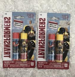 Transformers lip balm Bubble Gum/Raspberry 2/Pack Of Two Bum