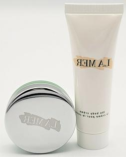 La Mer Travel Duo Lip Balm 9g & Body Creme 30ml New Aunthent