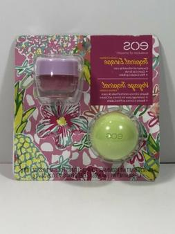 eos Tropical Escape Limited Edition Guava Lip Scrub and Pina