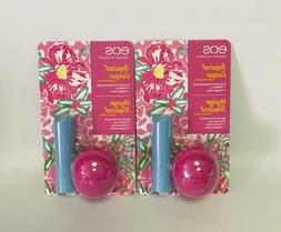 eos Tropical Escape Limited Edition Wildberry and Mango Melo