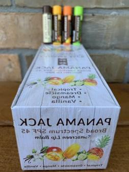 Panama Jack SPF 45 Sunscreen Tropical Lip Balm, Broad Spectr