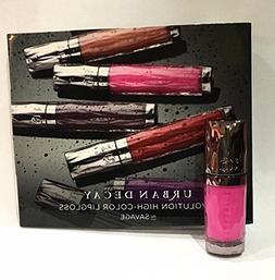 UD Urban Revolution High Color Lipgloss .05 oz Small Travel