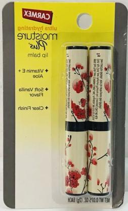 Carmex Ultra Hydrating Moisture Plus Lip Balm Soft Vanilla C