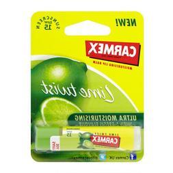 CARMEX ULTRA SMOOTH LIP BALM LIME TWIST 0.15OZ STICK MOISTUR