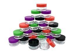 Beauticom 36 Pieces USA 20 Gram 20ml Empty Jars small Plasti