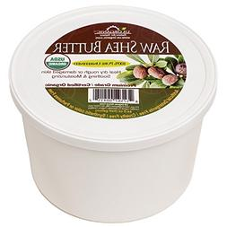 #1 USDA Certified Organic Shea Butter, Virgin, Raw African U