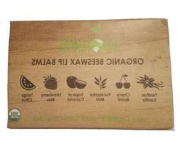 USDA Organic Lip Balm by Sky Organics – 6 Pack Assorted Fl