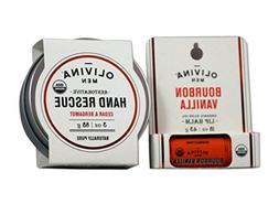 Olivina Mens USDA Organic Restorative Hand Rescue and Olive