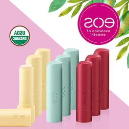 eos USDA Organic Smooth Lip Balm, 9 Stick Pack