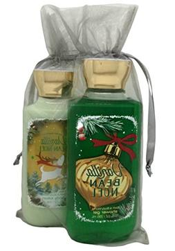 Bath & Body Works Vanilla Bean Noel Gift Set Bundle of Showe