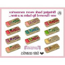 Tinte Cosmetics -  Vintage Slide Tin - Lip Licking Flavored