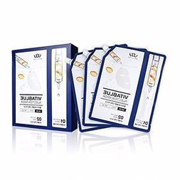 Vita Blue Injection Mask Pack 5pcs - Hypoallergenic Peel Of