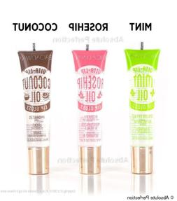 KISS Broadway Vita Lip Gloss Clear  Hydrate Shine Moisture S