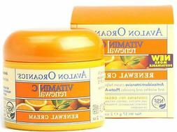 Avalon Organics Vitamin C Renewal Facial Cream 2 oz