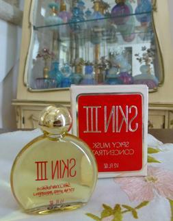 VTG MIB 1970s Bonne Bell SKIN III Spicy Musk Perfume Oil Con