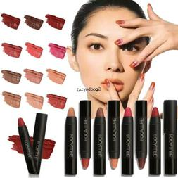 Waterproof Makeup Long Lasting Lipstick Matte Lip Gloss 12 C