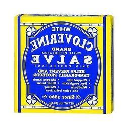 White Cloverine Salve, White Petrolatum Skin Protectant, 1 o