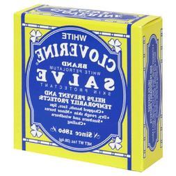 White Cloverine Salve, Petrolatum Skin Protectant, 1 Ounce T