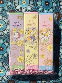 DHC x Disney Lip Cream 3-Pack JAPAN exclusive Tinkerbelle Ma