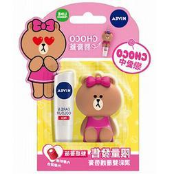 CHOCO Care & Colour RED Moisturizing Caring Tinted Lip Balm