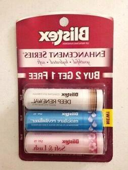 X3 BLISTEX Soft & Lush, Deep Renewal, Moisture Revitalizer L