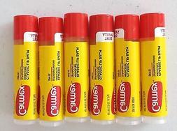 X6 Carmex Moisturizing Lip Balm Click Stick Original Spf 15